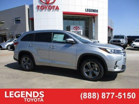 New 2018 Toyota Highlander Limited Platinum