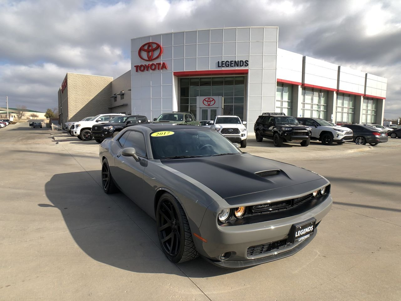 Pre-Owned 2017 Dodge Challenger T/A Plus