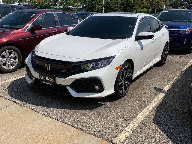 Pre-Owned 2018 Honda Civic Si Sedan Manual
