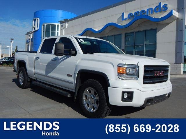 Pre Owned 2014 Gmc Sierra 1500 Slt Crew Cab Pickup In Kansas City