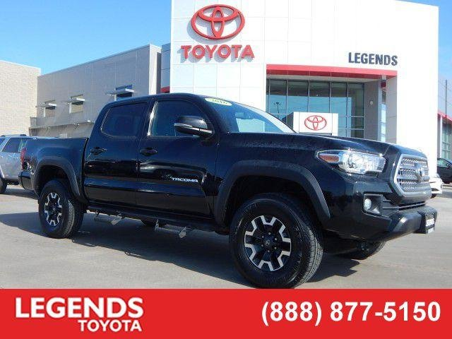 Pre Owned 2016 Toyota Tacoma Trd Off Road Crew Cab Pickup In Kansas City 4r37466a Legends