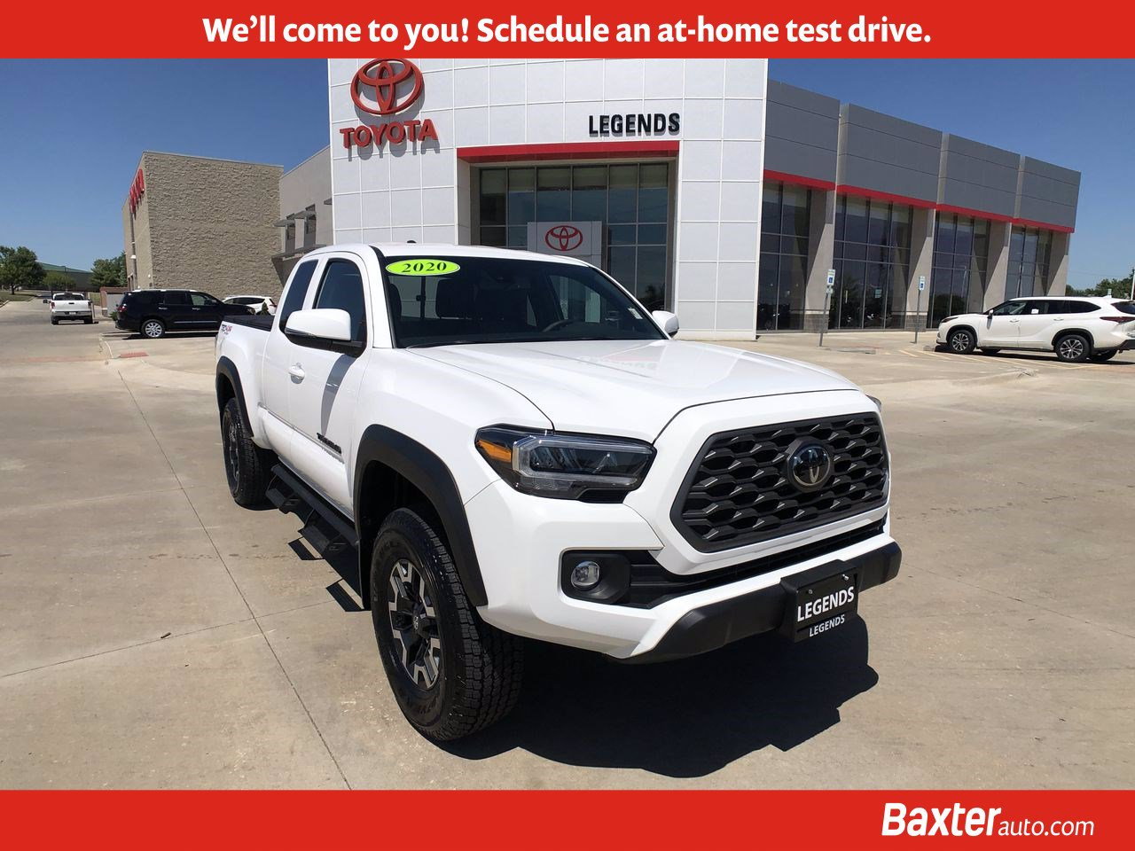 Pre-Owned 2020 Toyota Tacoma 4WD TRD Off Road