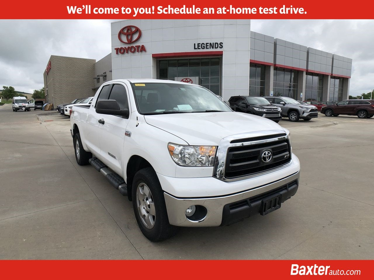 Pre-Owned 2012 Toyota Tundra 4WD Truck Double Cab 5.7L FFV V8 6-Spd AT