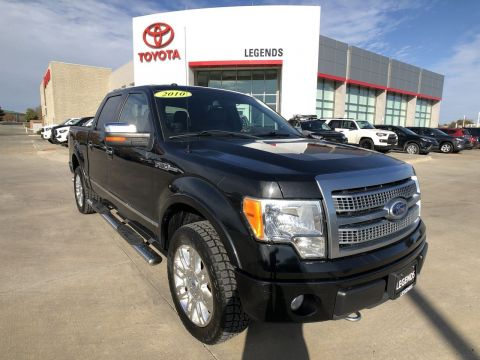 Pre-Owned 2010 Ford F-150 4WD SuperCrew 157 Platinum